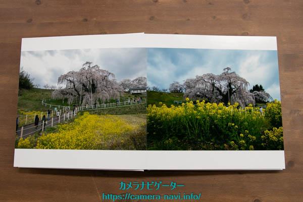 マイブックで写真集作りをした画像