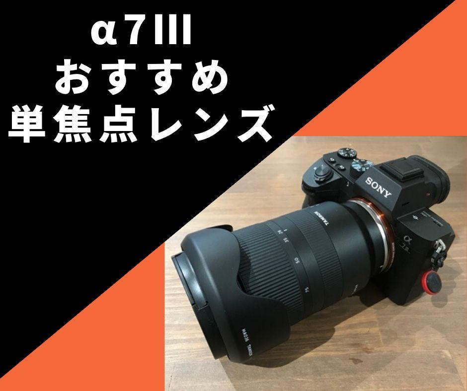 α7Ⅲにおすすめの単焦点レンズ編!焦点距離別におすすめの3選をご紹介!